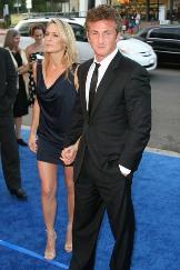 Sean Penn e moglie