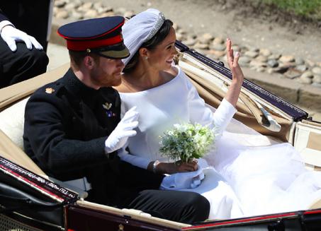 Nessun lancio del bouquet per la sposa Meghan Markle, ecco perché
