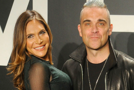 Robbie Williams sarà in un reality con la moglie Ayda Field (e la suocera Gwen)