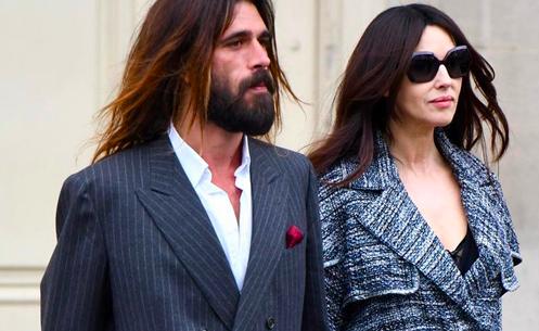 Monica Bellucci ha un nuovo fidanzato, l'ex modello Nicolas Lefebvre